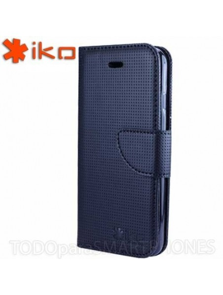 Funda IKO iPhone 6s/6 Plus Wallet Negro - Negro