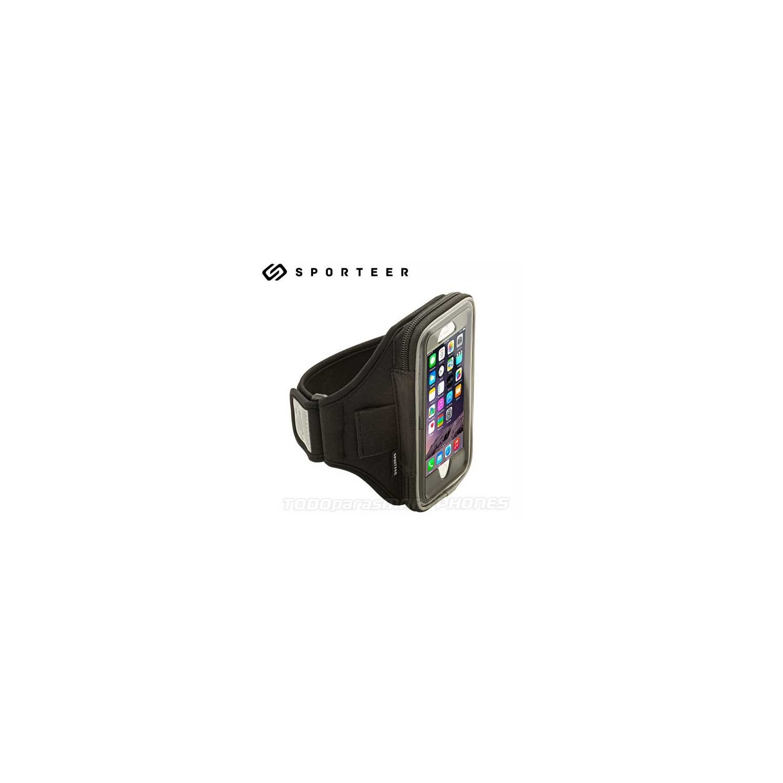 Funda SPORTEER banda brazo V6  iPhone 6s/6 Negra