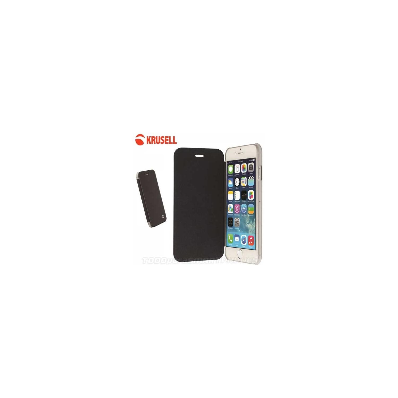 Funda iPhone 6s/6 Krusell Flip Boden Negra
