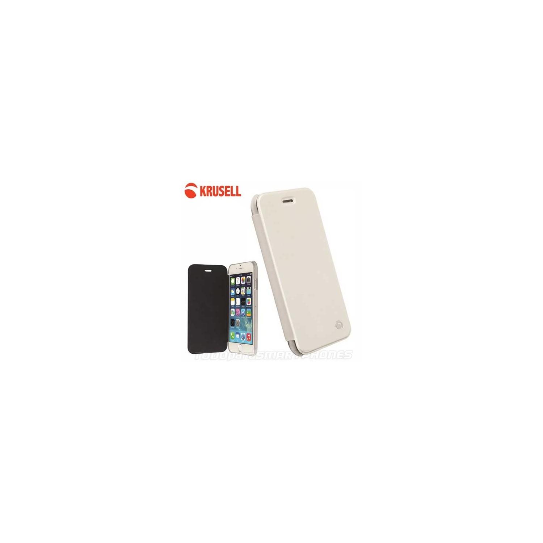 Funda iPhone 6s/6 Krusell Boden FlipCover Blanca