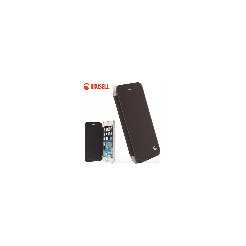 Funda iPhone 6s/6 Krusell Boden FlipCover Negra