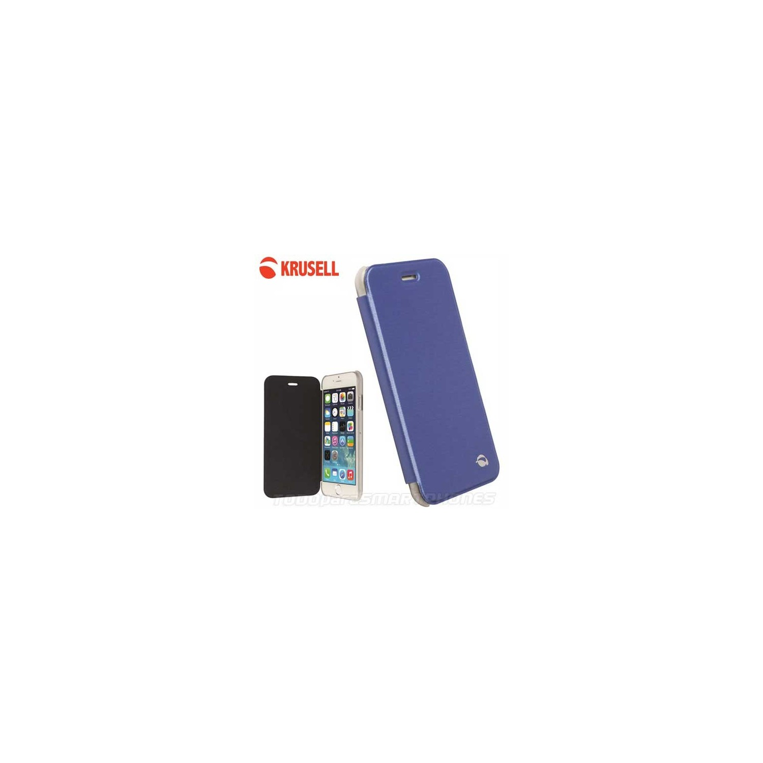 Case - Krusell Boden FlipCover for iPhone 6 Blue