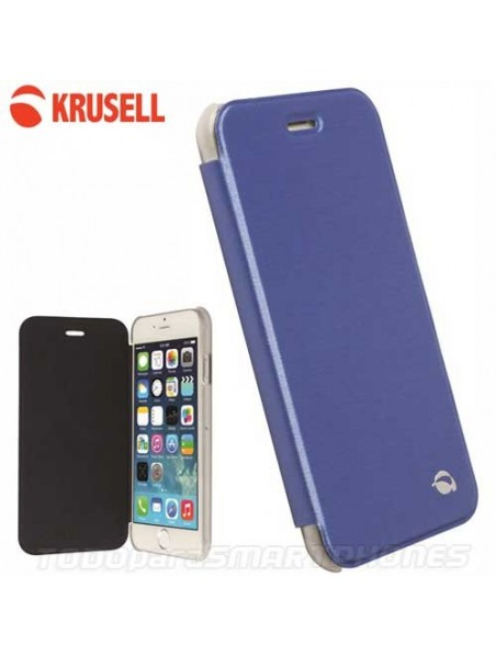 Funda iPhone 6s/6 Krusell Boden FlipCover Azul