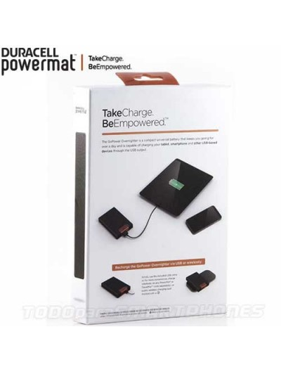 Powermat Auxiliary Battery Powebank 4400mAH - Black