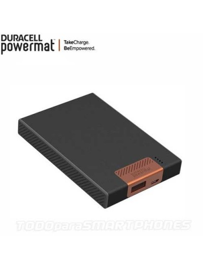 Powermat Auxiliary Battery Powebank 4400mAH - Black