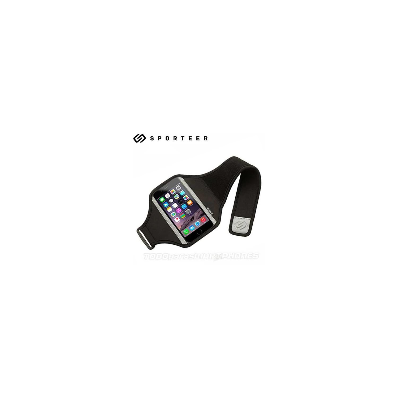 Funda SPORTEER banda brazo iPhone 6s Classic Negra