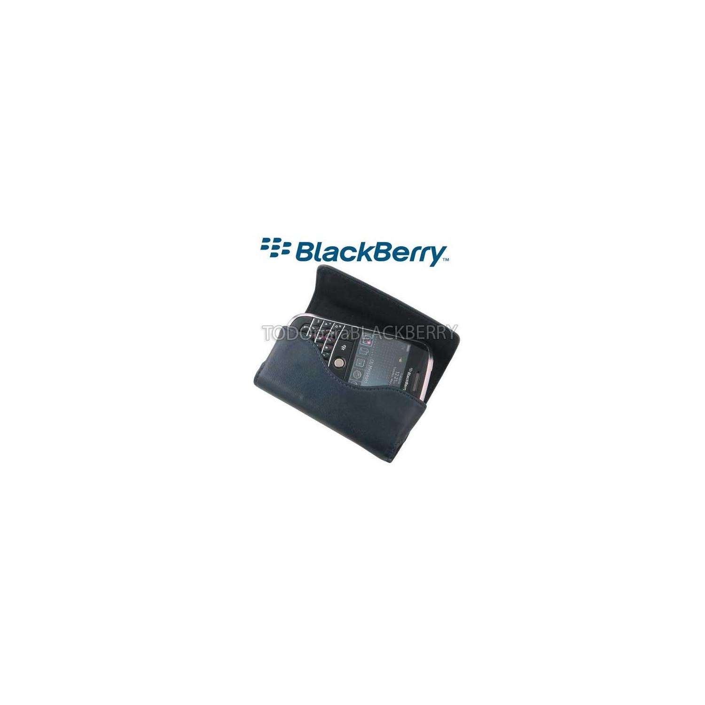 Funda Horizontal 9800 9000 Azul Obscuro con correa Bold Torch