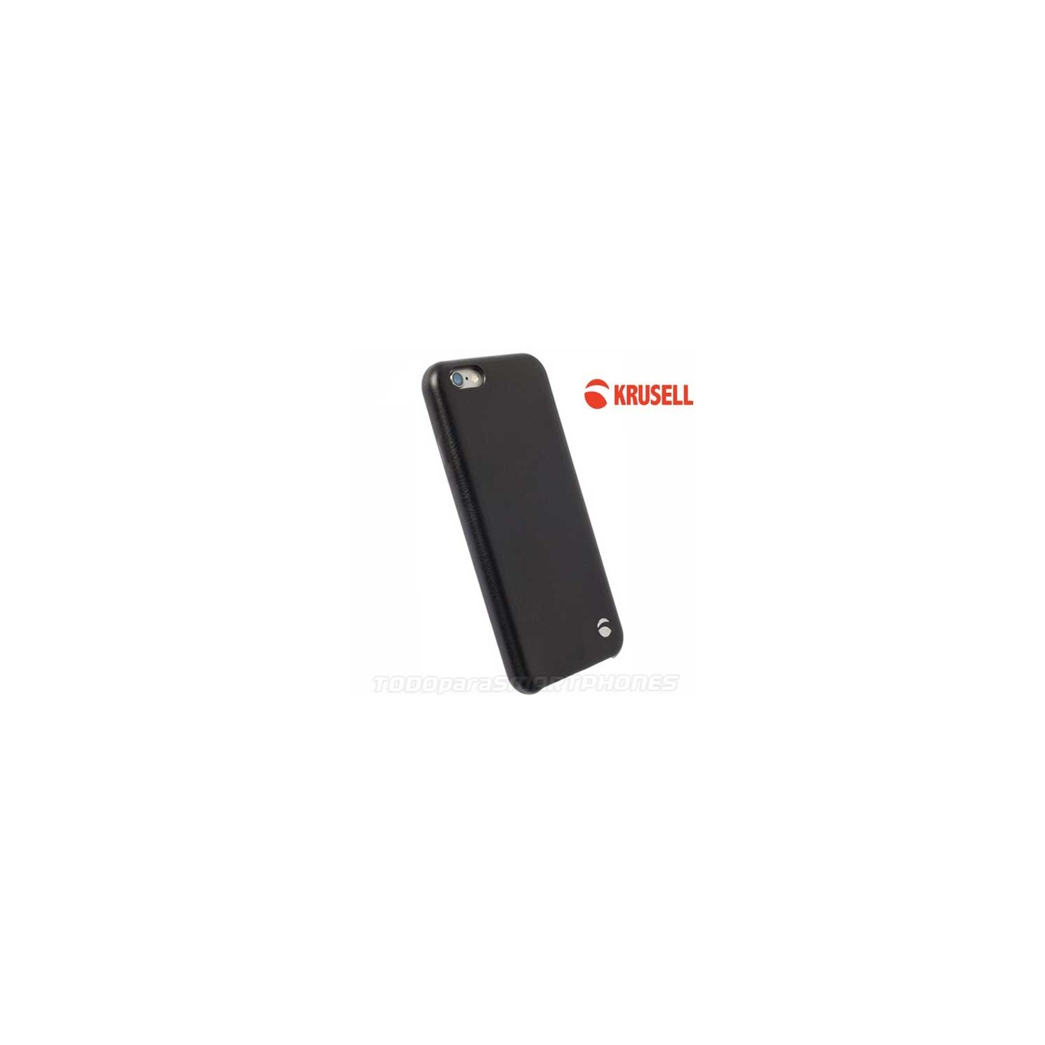Case - Krusell Timra Cover for iPhone 6s Black