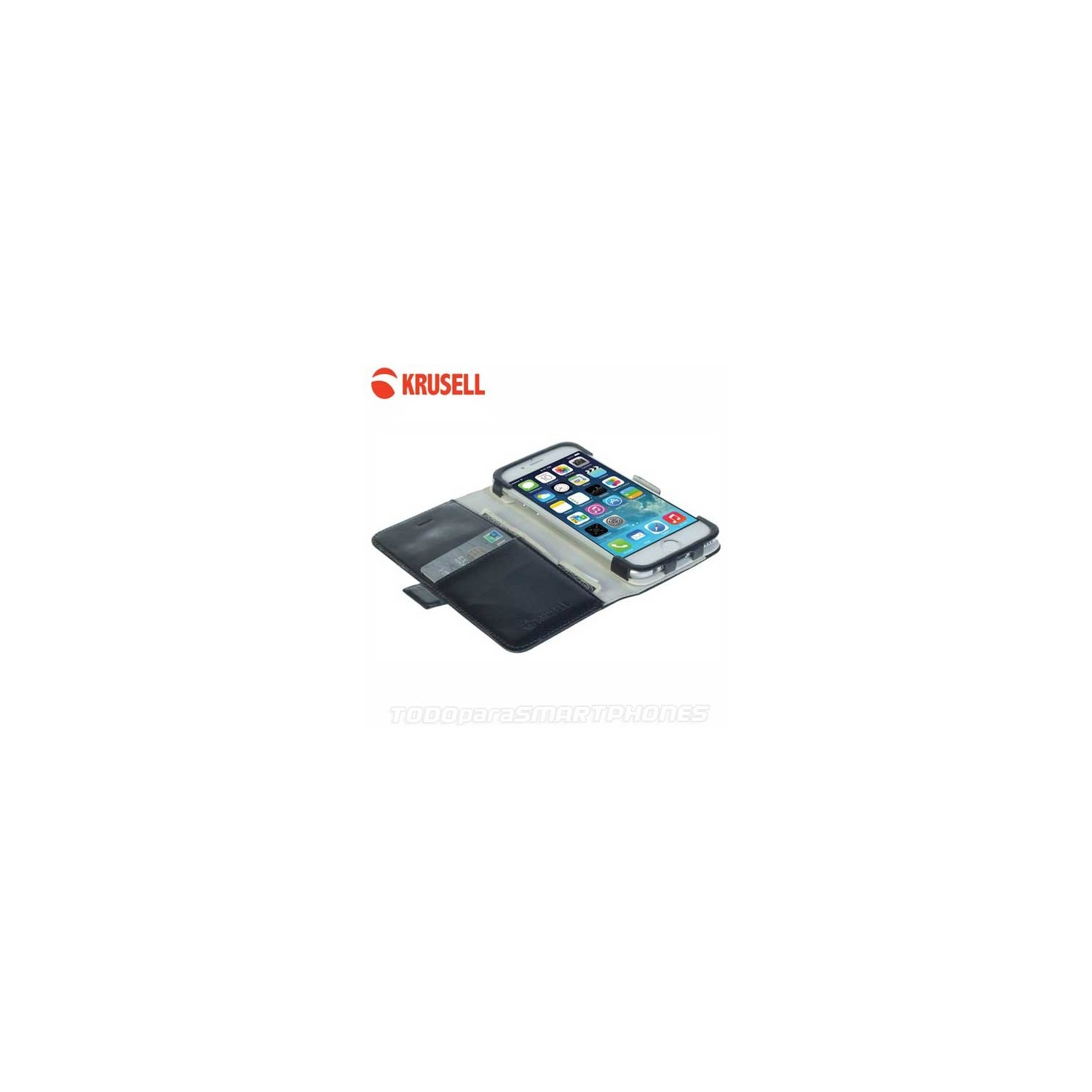 Case - Krusell Ekero FolioWallet for iPhone 6s Black