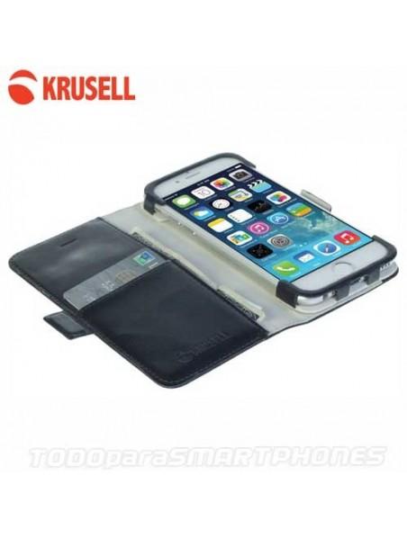 Funda iPhone 6s/6 Krusell Ekero Folio Wallet Negra
