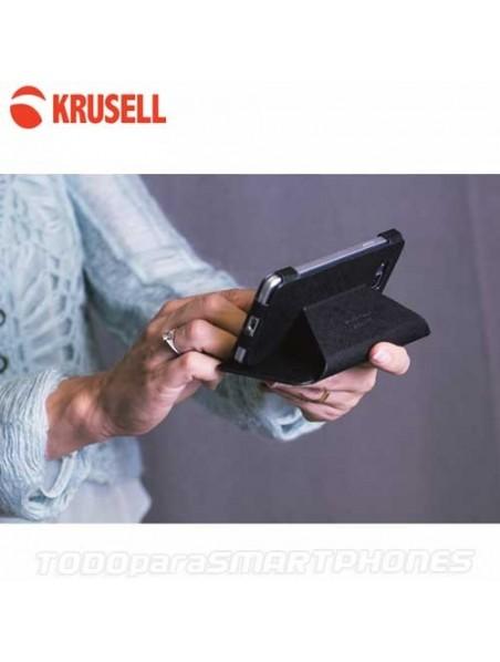Funda KRUSELL iPhone 6s/6 Malmo FlipWallet Negra