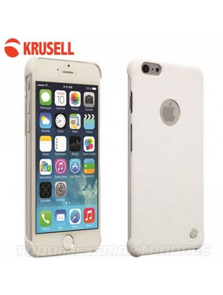 Case - Krusell Malmo Texture Cover for iPhone 6s White