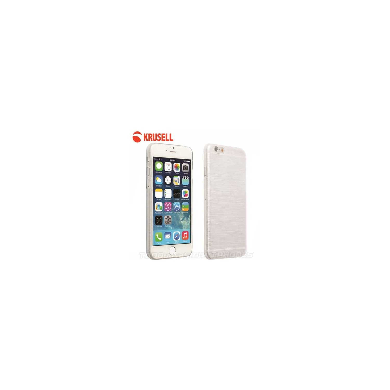 Funda KRUSELL iPhone 6s/6 Boden Cover Blanca Translucida