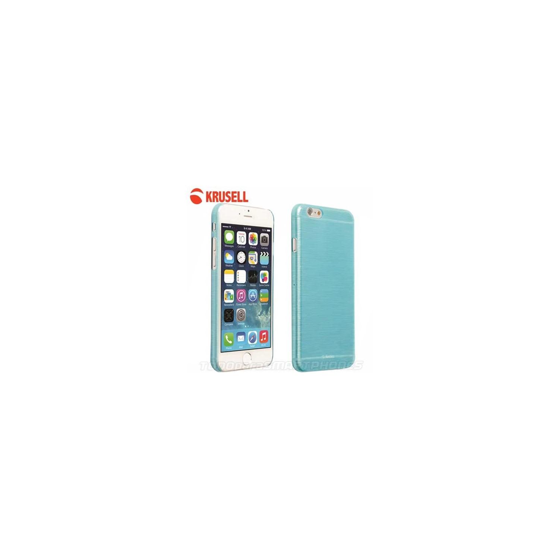 Funda KRUSELL iPhone 6s/6 Boden Cover Azul Translucida