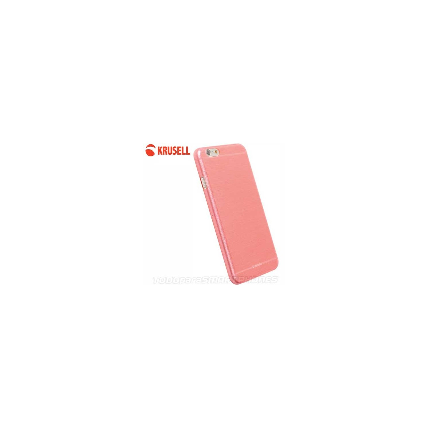 Case - Krusell Boden Cover for iPhone 6s Pink translucid