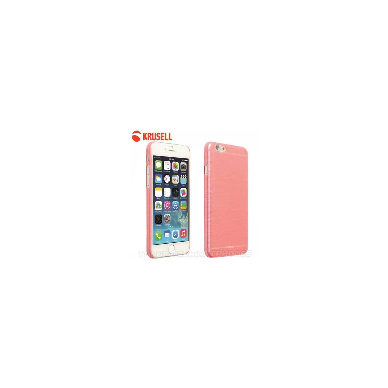 Funda KRUSELL iPhone 6s/6 Boden Cover Rosa Translucida
