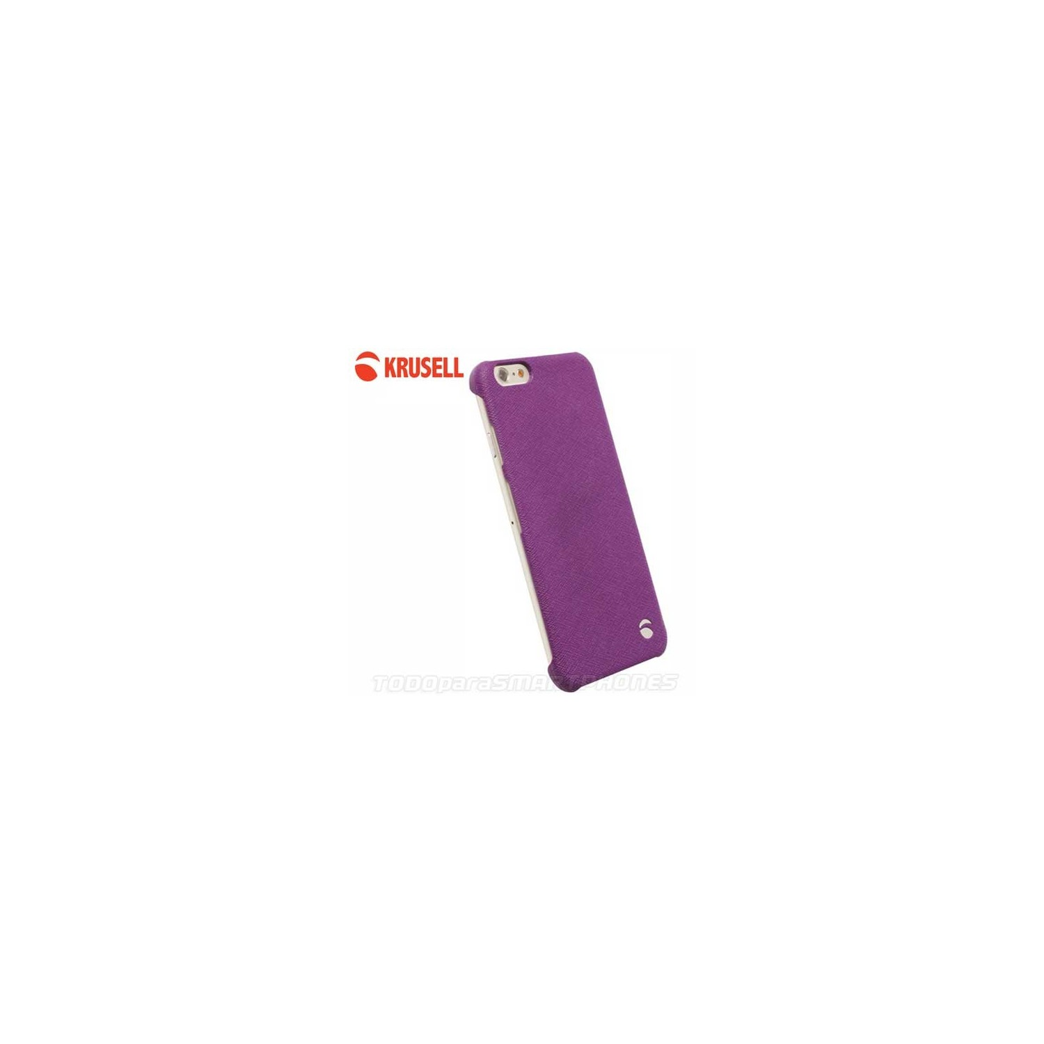 Case - Krusell Malmo Texture Cover for iPhone 6s Purple