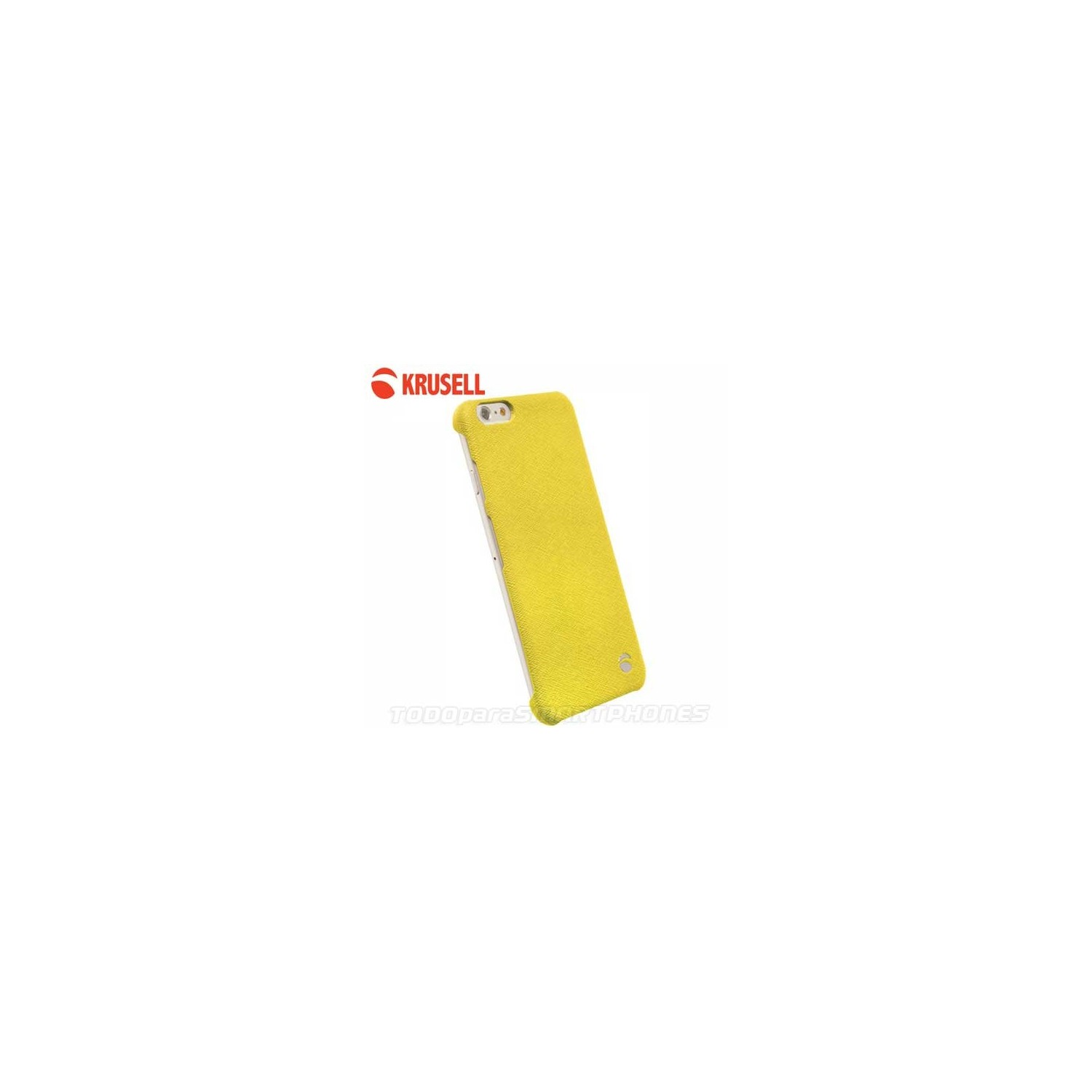 Funda KRUSELL iPhone 6s/6 Malmo Cover Amarilla