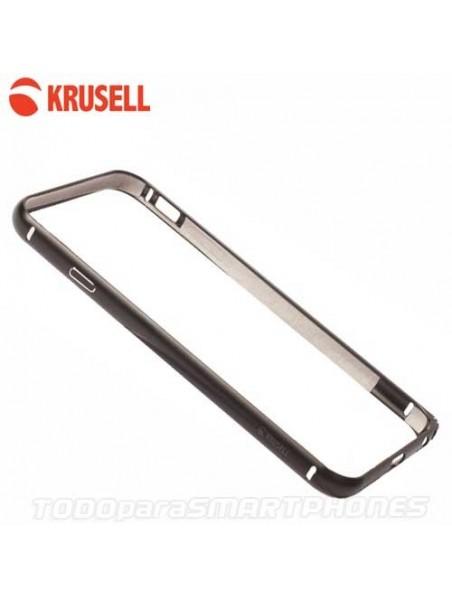 Funda KRUSELL iPhone 6s/6 AluBumper Aluminio Negro