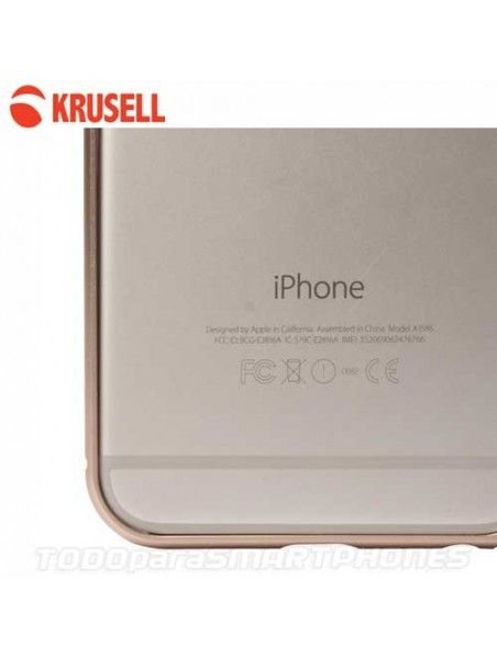 Case - Krusell AluBumper for iPhone 6/6s Gold