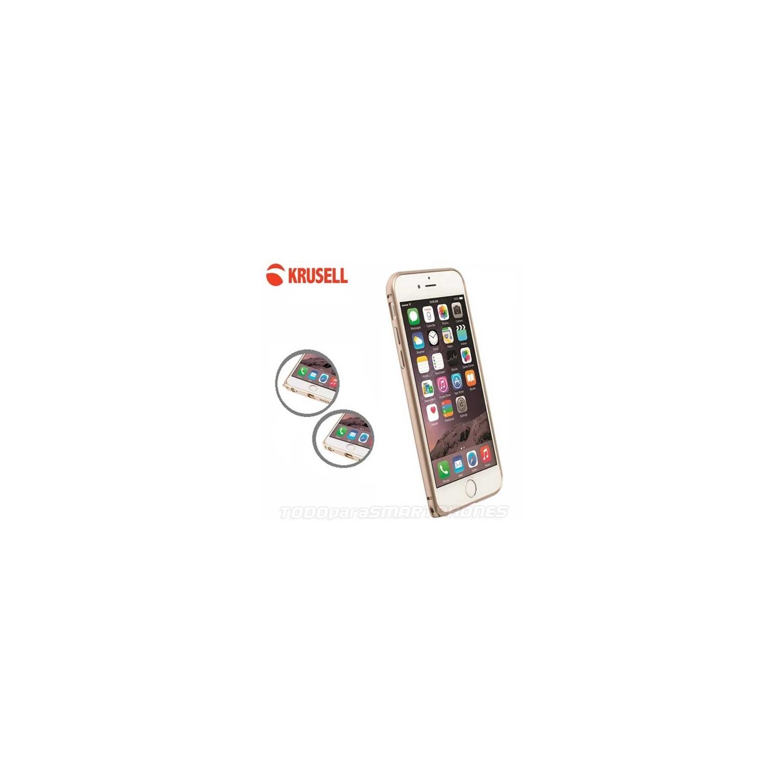 Funda KRUSELL iPhone 6s/6 ORO AluBumper Aluminio