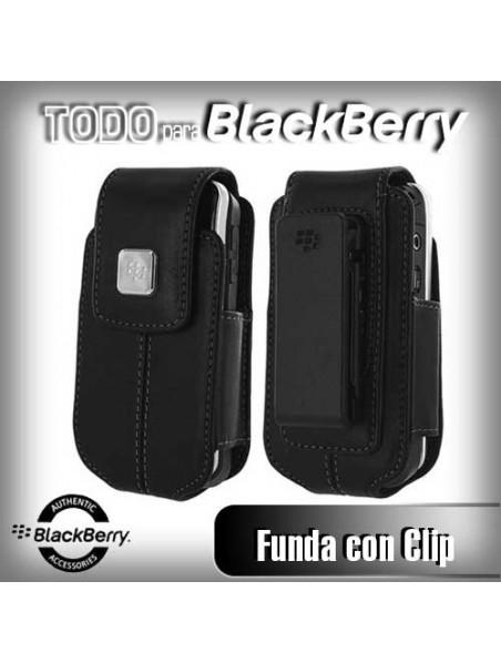 Funda Vertical 8220 8230 Flip con Clip color Negro