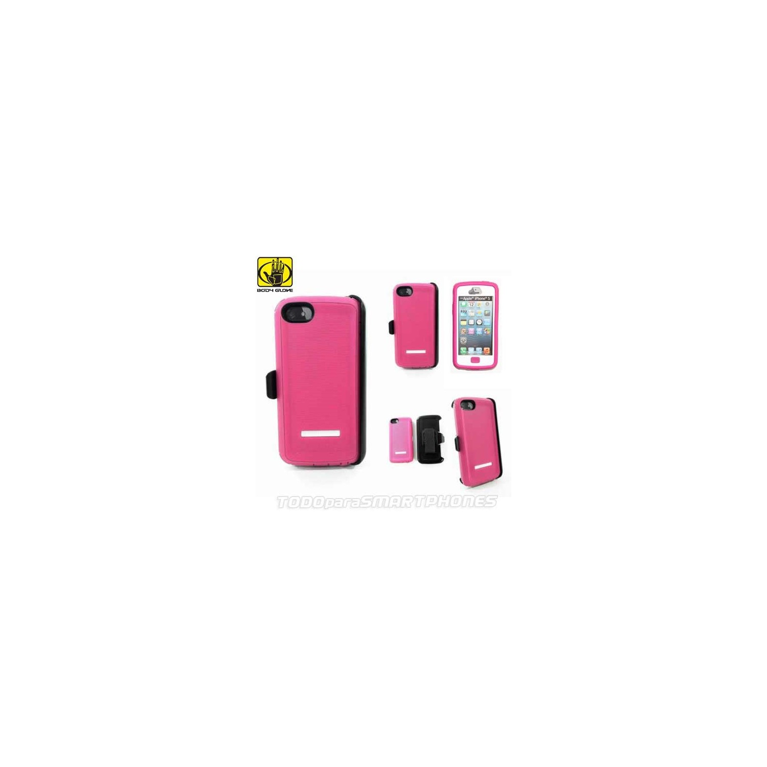 Case - Body Glove for iPhone 5 Thougsuit pink