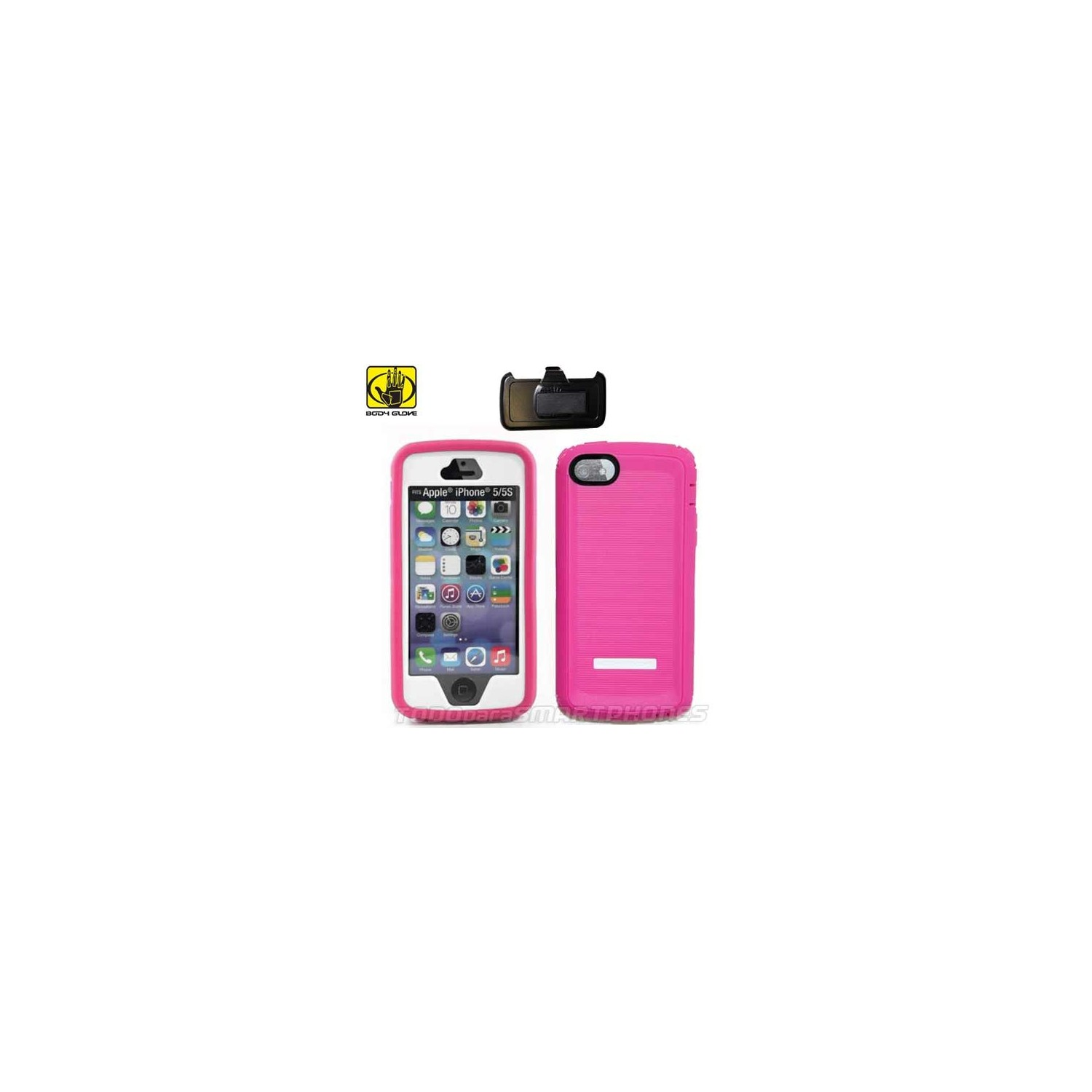 Case - Body Glove for iPhone SE/5s/5 Thougsuit pink