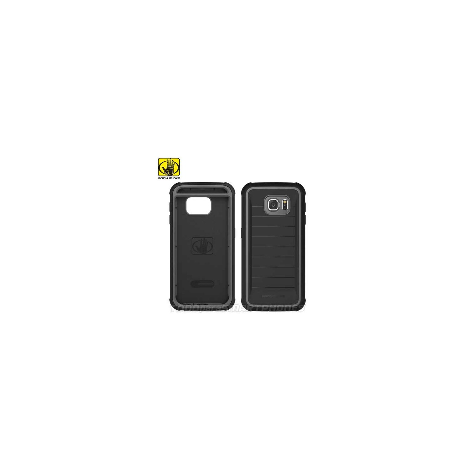 Case - Body Glove for Samsung S6 Shocksuit Black
