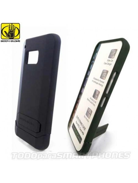 Funda BODY GLOVE HTC One M9 Elite Stand Negra