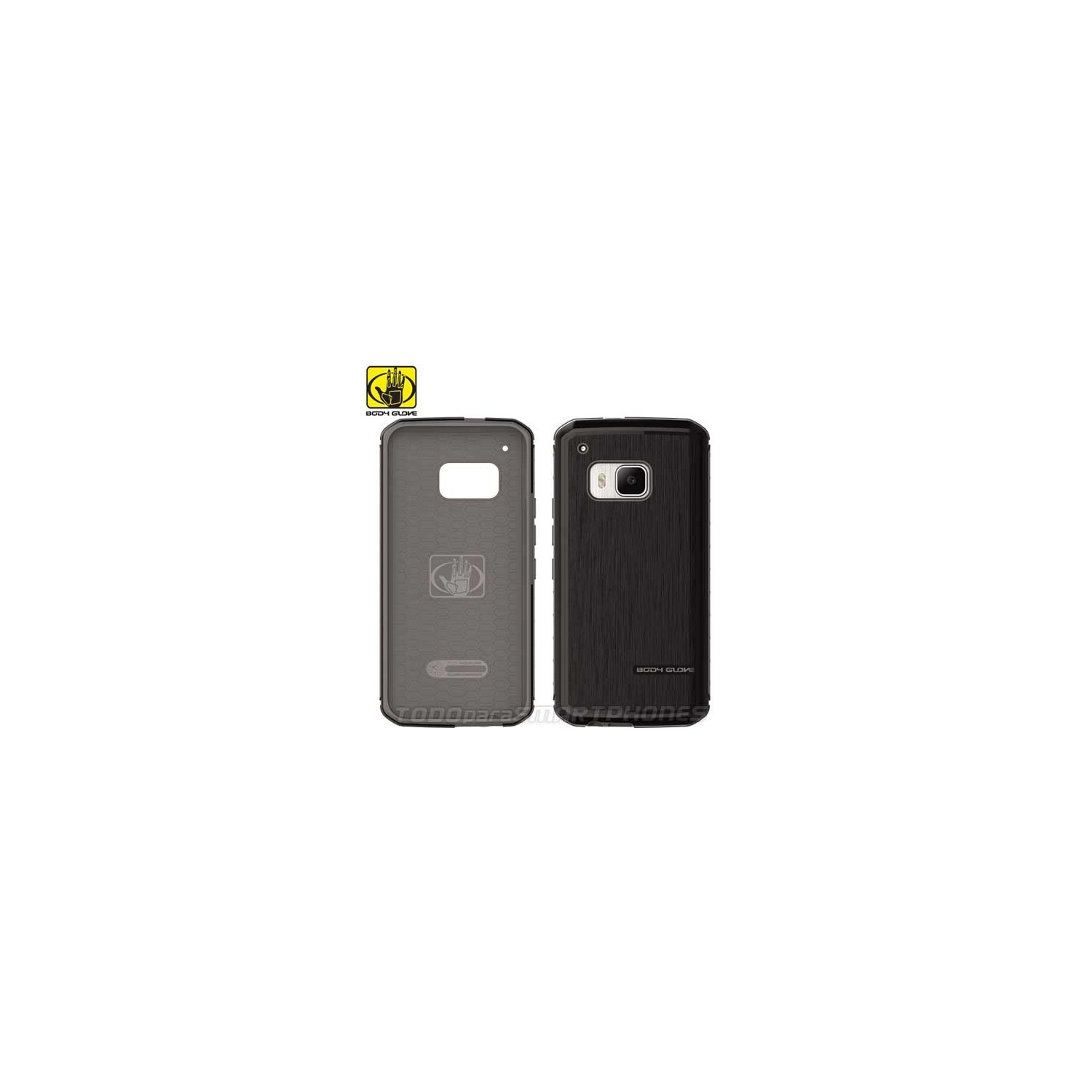 Funda BODY GLOVE HTC One M9 Fusion Pro Negra
