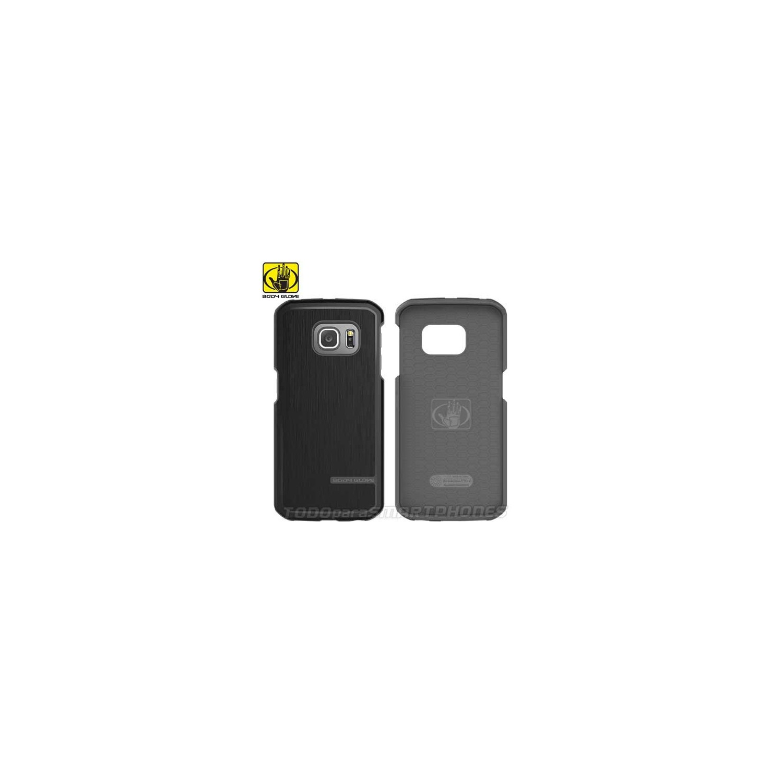 Case - Body Glove for SAMSUNG S6 EDGE  Fusion Pro Black