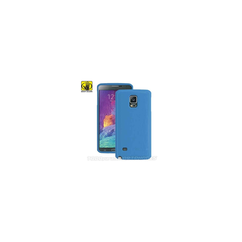Case - Body Glove for Samsung Galaxy Note 4 Satin Blue