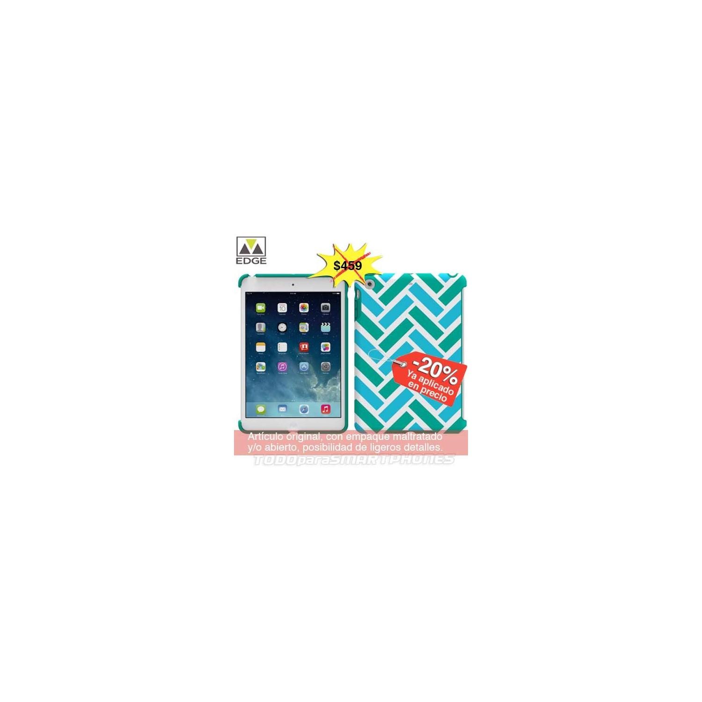 Case - M-Edge echo iPad mini 1/2/3 case Blue Green