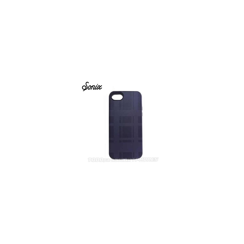 Case - SONIX for iPhone 5C Inlay Black Plaid
