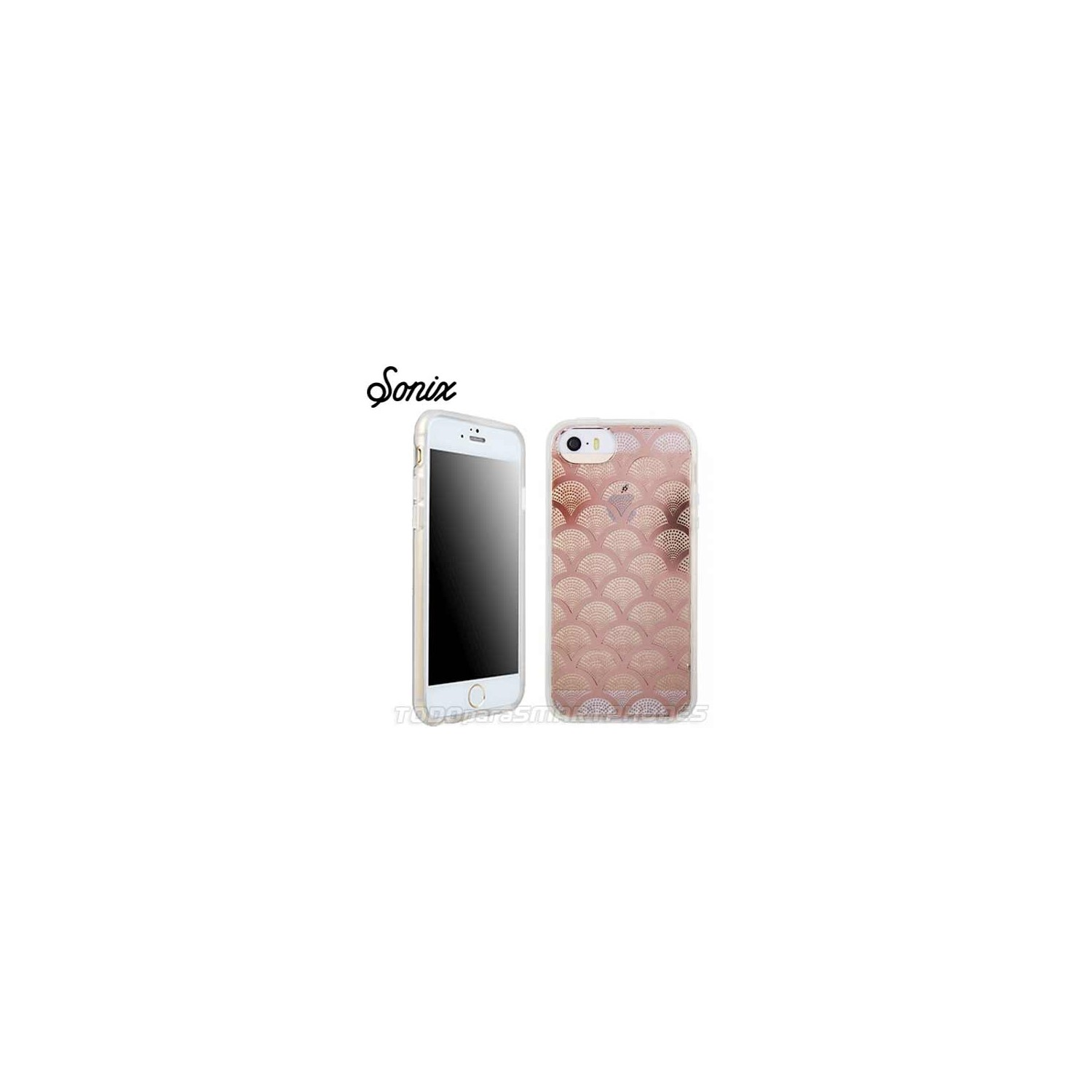 Case - SONIX for iPhone 6/6s Transparent Champagne Lace