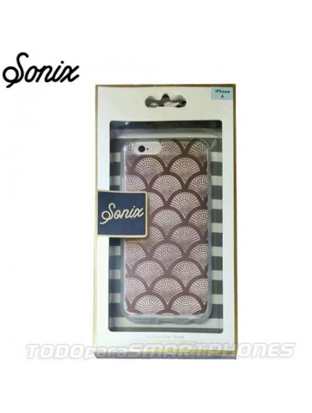 Funda SONIX iPhone 6/6s Transparente Champagne Lace