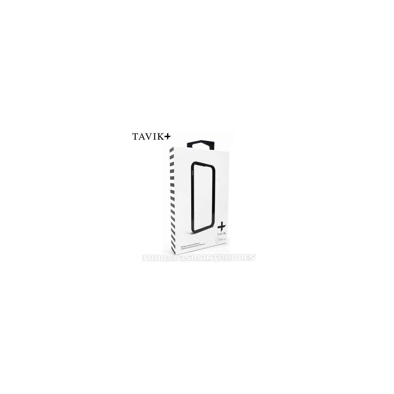 Funda TAVIK iPhone 6s/6 Bumper Negro Gris