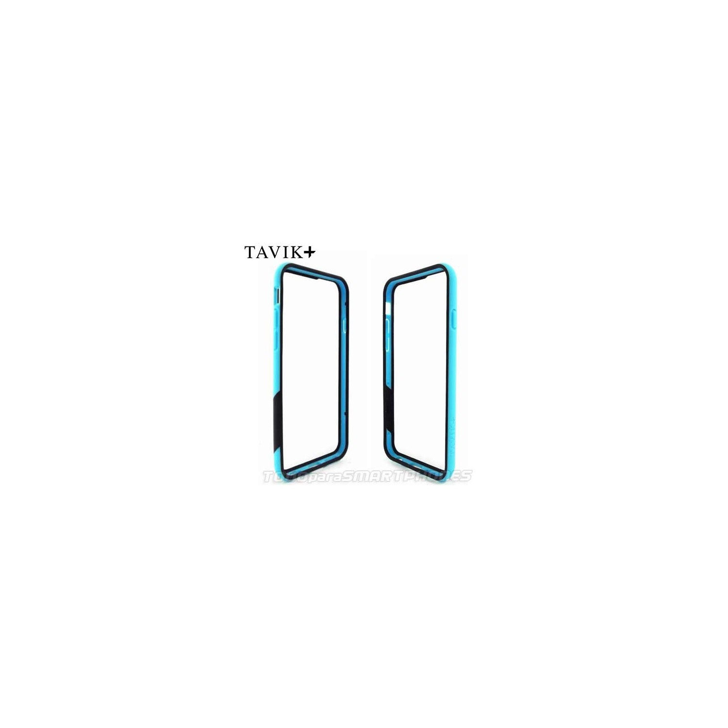 Case - TAVIK Bumper for iPhone 6/6s Blue Black