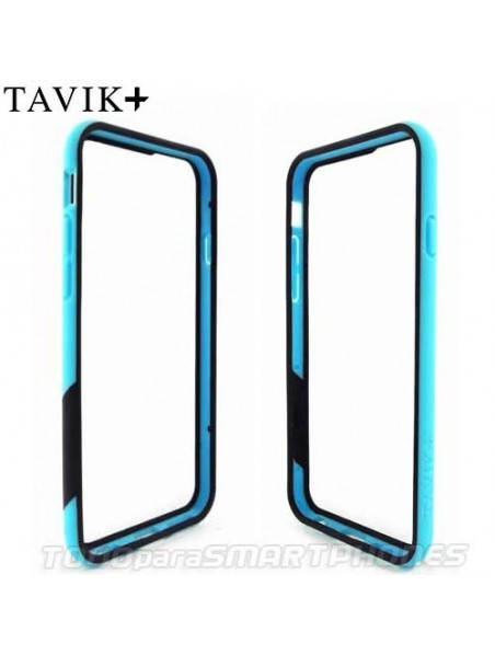 Funda TAVIK iPhone 6s/6 Bumper Azul Negro