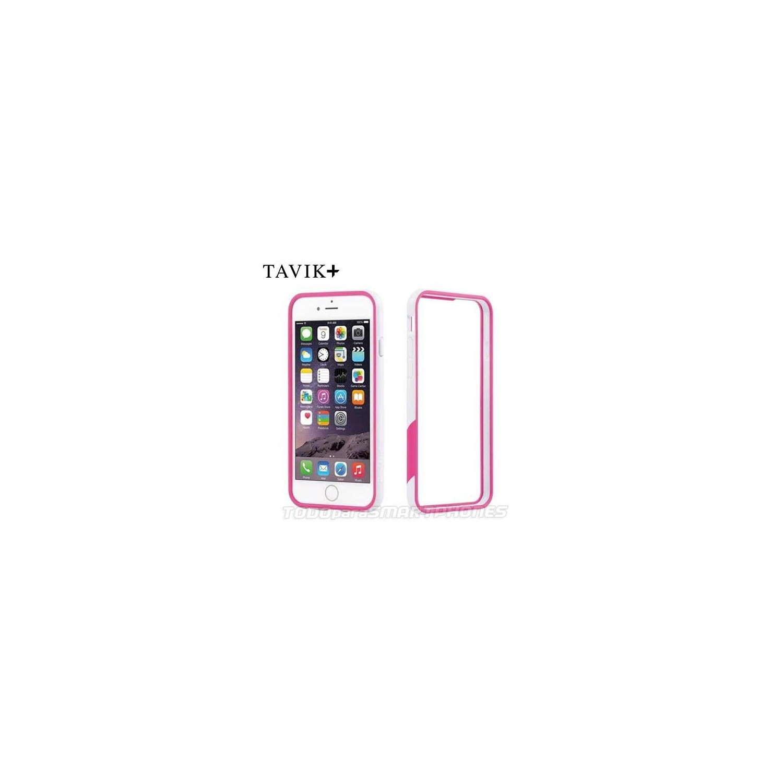 Funda TAVIK iPhone 6s/6 Bumper Rosa Blanco