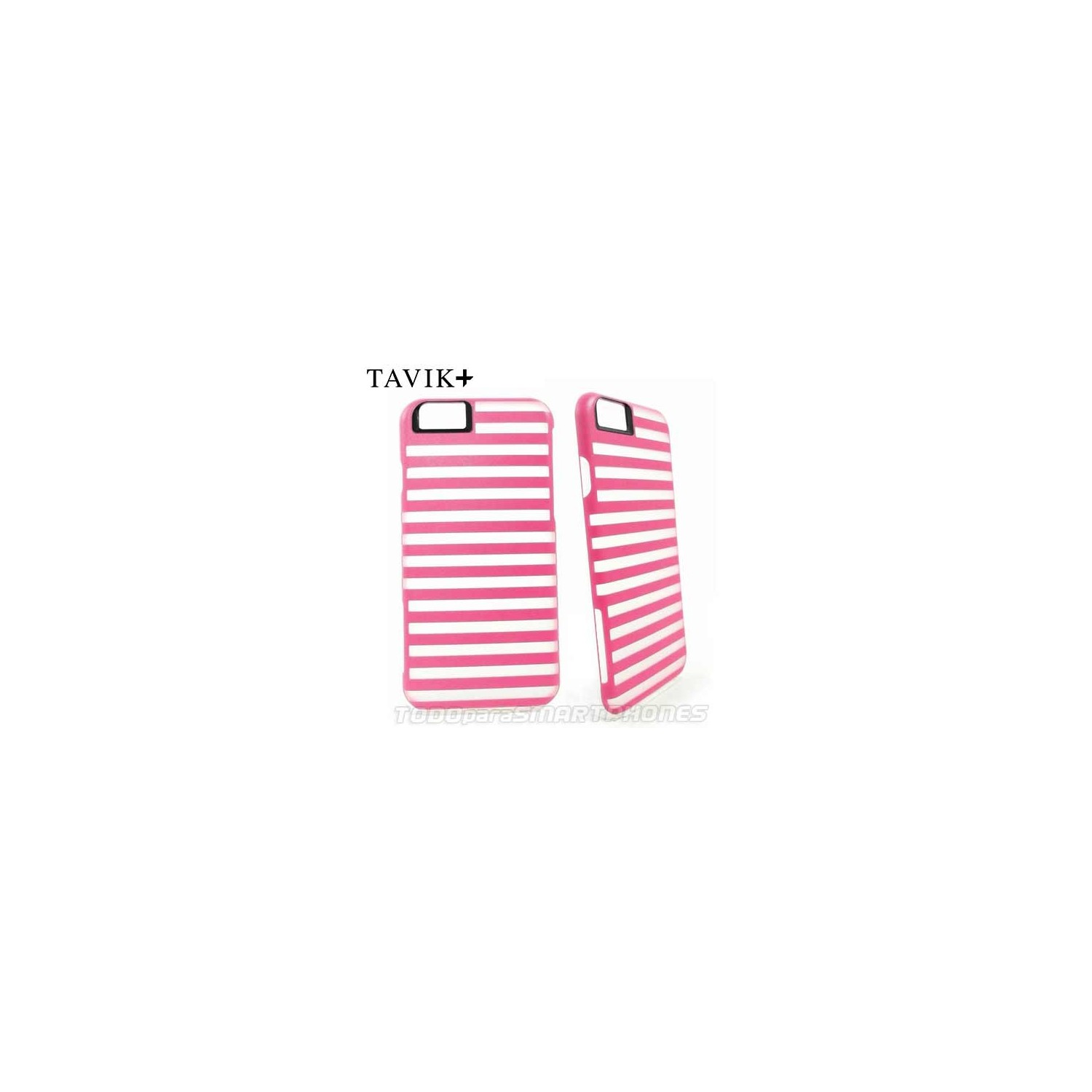 Case - TAVIK Bumper for iPhone 6/6s Pink White