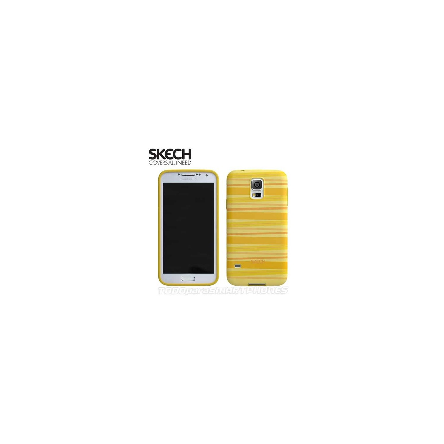 Case - SKECH for Samsung S5 Groovy Yellow